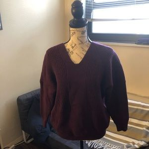 Sweaters - Women's plum sweater size medium